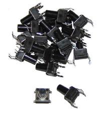 Interruptor plano pulsador / Tactile Switch 6x6x9.5mm 4 pin x20 units