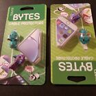 Tzumi BYTES Cable Protectors (2 ct. pkg) Dragons - One Eyed Purple People Eater