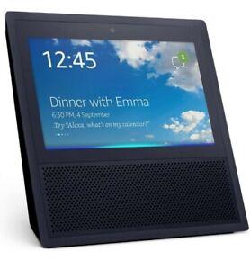 Amazon Echo Show Alexa 1st Generation MW46WB Smart Assistant BLACK - RARE - MINT