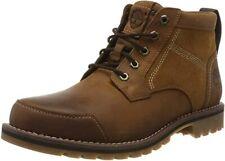 Timberland Larchmont Chukka Boots 40 Braun Glattleder