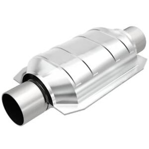 """MagnaFlow Catalytic Converter 91004; 48-State Legal Universal Stainless 2.0"""" C/C"""