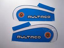 Bultaco, 1974, 250 Tank Decal Kit - BUL-DE-7400-250TA