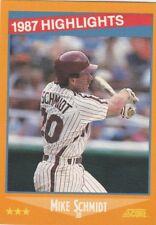 FREE SHIPPING-MINT-1988 (PHILLIES) Score #657 Mike Schmidt HL-2