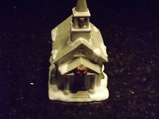 PartyLite Christmas The Church Tealight House P0428 w/ Original Box