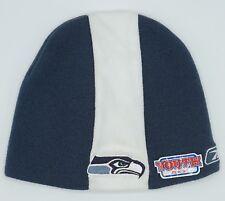 c03061935a1 NFL Seattle Seahawks Reebok Youth Cuffless Winter Knit Hat Cap Beanie NEW!