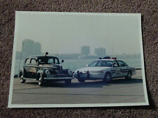 Ford Detriot Police Car Press Photo 1940 Deluxe Coupe Crown Victoria Interceptor