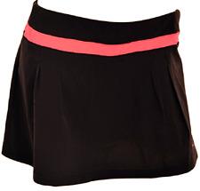 adidas Skort Climalite Golf Tennis Skirt Spandex Womens M Black RedZest Z76728