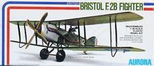 Aurora 1:48 Britishi Bristol F.2B 2 Seat Fighter Biplane Plastic Kit #776U
