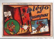 Récit complet. Collection L'AUDACIEUX n°56. DIEGO DES PAMPAS. 1939.