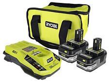 Ryobi 18-Volt IntelliPort Rapid Charger LED Temperature Battery Starter Kit