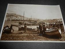 1920 FOTOGRAFIA ORIGINALE NAPOLI GOLFO PESCATORI COSTUMI BOZZETTO CARTOLINA?