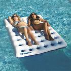 Swimline Solstice AquaWindowDuo 2 Person Swimming Pool Mattress Lounger Float