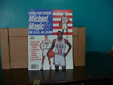 VINTAGE 1992 TRADING CARDS PREVIEWS COLLECTORS EDITION MAGAZINE  USA ALL STARS