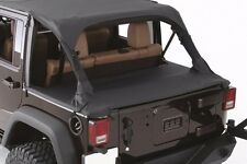 Smittybilt Tonneau/Cargo Cover in Black Diamond 2007-2017 4dr Jeep Wrangler JK