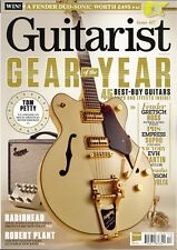 Guitarist December 2017 Gear of the Year - Radiohead - Robert Plant - Tom Petty
