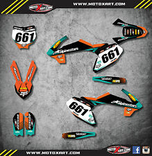 KTM 65 2016 2017 2018 VITAL STYLE stickers decals Full Graphics custom kit decal
