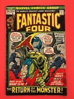 FANTASTIC FOUR #124 The Return of the Monster! Sue Storm Captured? Marvel 1972