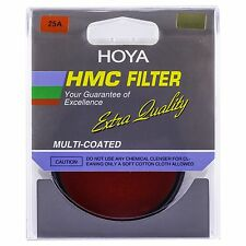Hoya 62mm Red 25A (HMC) Multi-Coated Glass Filter
