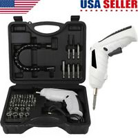 47 in 1 Rechargeable Wireless Cordless Electric Screwdriver Drill Kit Power Tool