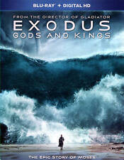 Exodus: Gods and Kings (Blu-ray Disc, 2015, Includes Digital Copy) - NEW!!