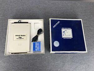 Supra Atari Modem 300 Baud for Atari 400 800 XL XE Computers Complete in Box
