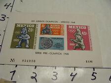 juegos de la XIX olimpiada 1968, serie preolimpica 1967 #6