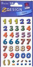 Bunte Zahlen 14 mm Zweckform Z-Design 59335