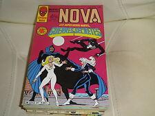 NOVA n° 91 de 1985 - SPIDER MAN - LES FANTASTIQUES - IRON MAN - comme neuf.