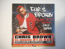 CHRIS BROWN : RUN IT / I MAY NEVER FIND  ★ Port Gratuit - CD Neuf ★ NEW