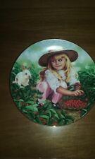 """Amanda"" Treasured Days Plate Collection Hamilton Collection Mib Coa"