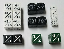 18x Special Dice Counters for CCGs like Magic: The Gathering / MTG Starter Set