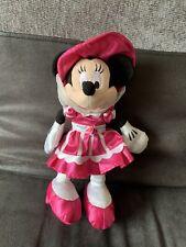 Disney Disneyland Paris Swing Into Spring Bonnet Minnie Mouse Plush Soft Toy