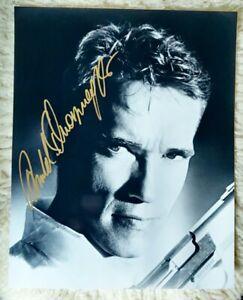 Arnold Schwarzenegger 20 x 25 GF original Autogramm signiert signed 8 x 10