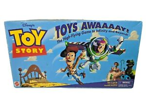 Disney Toy Story Game Toys Awaaaay!  Gameboard Backdrop & Launcher Vintage 1996