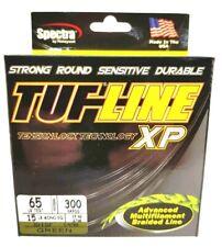 BRAID TUF-LINE XP 65lb green 300yards Spectra advanced multifilament line USA