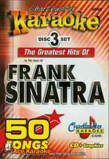 Chartbuster Karaoke CDG CB5058 - Hits of Frank Sinatra