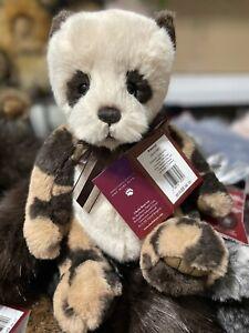 RASCAL Panda Charlie Bears 12.5 Inches Gorgeous Little bear! Gorgeous plush fur
