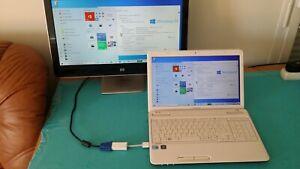 """PC - Toshiba Satellite L655- de (i5)_ avec Windows 10 _ & (15,6"""" pouces)"""