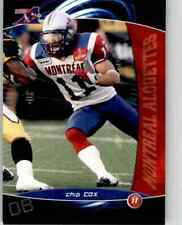 2008 Extreme Sports CFL Chip Cox #5