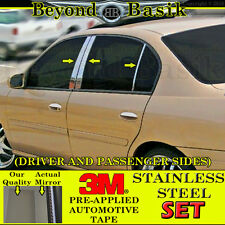 1997 98 99 2000 01 02 2003 CHEVY MALIBU STAINLESS STEEL 6Pc Pillar Posts Covers