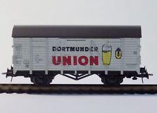 """Roco 4305 E, H0, ged. Güterwagen, Bierwagen """"Dortmunder Union"""", AC,Ep. IV, MDO"""