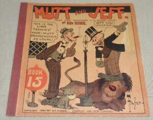 Vintage 1930 MUTT & JEFF Book #15