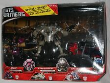transformers movie battle damaged arcee starscream optimus prime exclusive MISB