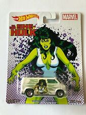 HOT WHEELS Marvel series The Savage She Hulk Custom '77 Dodge Van
