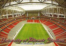 Postcard AZ Glendale Arizona University of Phoenix Stadium Unused MINT