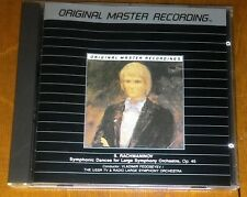 Rachmaninov MFSL CD Symphonic Dances for Large Orchestra Op. 45 OOP