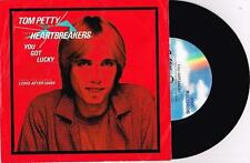 "TOM PETTY AND THE HEARTBREAKERS - YOU GOT LUCKY - 7"" 45 RECORD w PICT SLV - 1982"