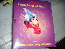 Boxed Set 12 Books Disney Family Storybook Library Fables Children's Free Ship