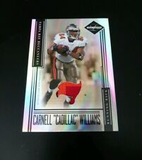 """2006 Carnell """"Cadilac"""" Williams Leaf Limited Silver  3 Color Jersey Card  28/30"""