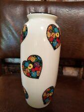 Mary Engelbreit Vase fried egg flower hearts